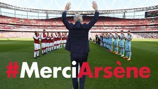 Download All the angles of Arsene Wenger's emotional farewell speech | #MerciArsene Video