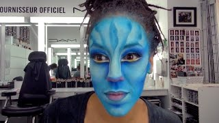 Download TORUK Na'Vi Artist Makeup Transformation | by Cirque du Soleil Video