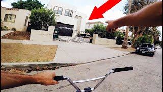 Download WE RODE BY JAKE PAUL'S TEAM 10 HOUSE AND SAW THIS Video