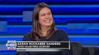 Download EXCLUSIVE: White House Press Secretary Sarah Huckabee Sanders Talks Politics and More! | Huckabee Video