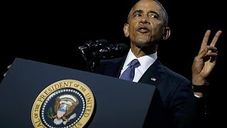 Download «Προστατεύστε την Δημοκρατία»: Η αποχαιρετιστήρια ομιλία Ομπάμα Video
