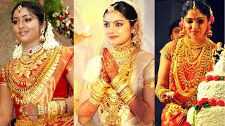 Download South Indian Actress Wearing traditional Gold Jewellery on their Marriage. celebrity wedding jewelry Video