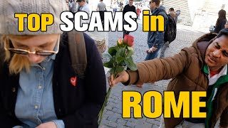Download 5 Tourist Traps / SCAMS in ROME, ITALY 2018 Video
