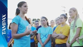 Download Alex Morgan Gives High School Soccer Team an AWEsomely Active Surprise Video