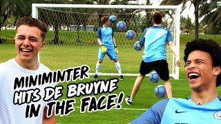 Download MINIMINTER HITS DE BRUYNE IN THE FACE WITH RABONA! ChrisMD & Miniminter v De Bruyne, Sane & Sterling Video