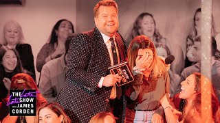 Download James Corden's Audience Attempts To Answer Simple Trivia For A Big Cash Prize Video