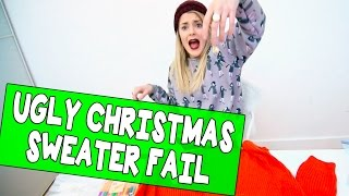 Download UGLY CHRISTMAS SWEATER FAIL // Grace Helbig Video