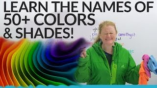 Download Improve Your Vocabulary: 50+ Shades of Colors in English! Video