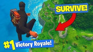 Download SURVIVING FALL FROM *MAX HEIGHT* In Fortnite Battle Royale! Video