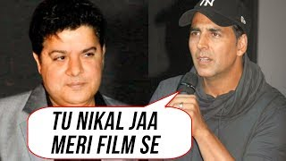 Download Akshay Kumar SACKS Sajid Khan From Housefull 4| Twinkle Khanna Angry Reaction Video