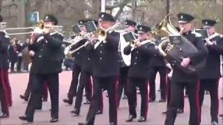 Download Changing the Guard Buckingham Palace 27 November 2016 Video