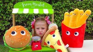 Download Настя и волшебная игрушечная еда Video