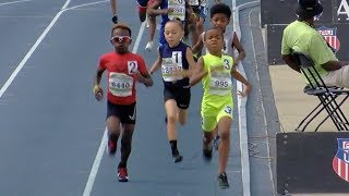Download 8-Year-Old Drops Monster 800m Kick Video