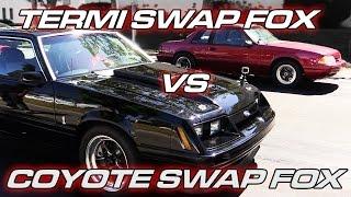 Download Termi Swapped Fox Body Mustang vs Coyote Swapped Fox Body Mustang Video