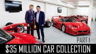 Download Ferrari Collector David Lee's $35million car collection! (Part 1) Video