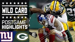 Download Giants vs. Packers | NFL Wild Card Game Highlights Video