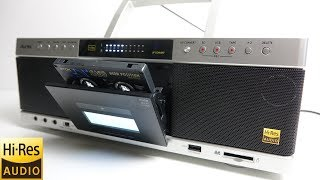Download Review of the new Toshiba Aurex 'Hi-Res Cassette deck' Video