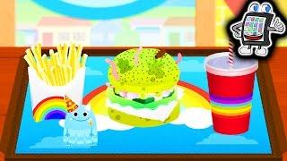 Download BAMBA BURGER - Der EKLIGSTE Burger der Welt! Kaan zaubert wieder! Spiel mit mir Apps Video