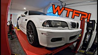 Download Here's What a 172,000 Mile E46 BMW M3 Looks Like Underneath Video