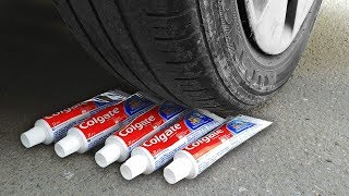 Download EXPERIMENT: CAR VS TOOTHPASTE Video