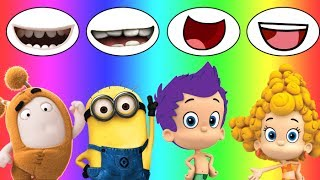 Download Colors for children Wrong Mouth Bad Baby Oddbods Bubble Guppies Minions Family Song Nursery Video