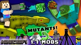 Download CHASE PLAYS MINECRAFT: Mutant Creatures & Robo Dinosaurs w/ Chance Cubes (1.7 Mods w/ Zootopia Fox) Video