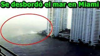 Download ¡INCREÍBLE! Huracán Irma desbordó el mar en Miami, Florida | Hurricane Irma overflows the sea Miami. Video