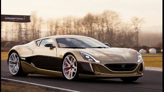 Download Rimac Concept One versus Bugatti Veyron - track and drift action! Video