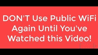Download Why You Will Get Hacked Using Free Open WiFi Video