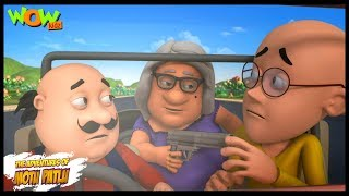Download Motu Patlu Cartoons In Hindi | Animated cartoon | John ek behrupiya chor | Wow Kidz Video