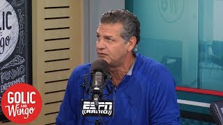 Download How comfortable should Packers be starting Rodgers vs. Vikings?   Golic and Wingo   ESPN Video