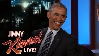 Download President Obama Says First Lady Would Divorce Him if He Ran Again Video