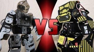 Download ROBOT DEATH BATTLE! - Bioloid VS Super Anthony (ULTIMATE ROBOT DEATH BATTLE!) Video