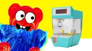 Download Lucky Bär und sein Greifarm Spielzeug Automat Video