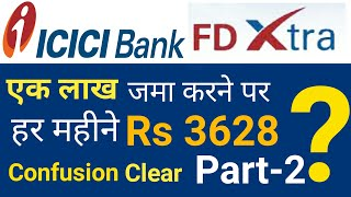 Download ICICI Bank FD Extra Monthly Income Part-2 | ICICI Monthly Income Plan | ICICI FD Extra 2019. Video