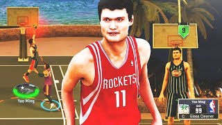 Download YAO MING THE BIGGEST CENTER EVER AT THE PARK! • 7'6 DEMI-GOD CAN'T BE STOPPED! • NBA 2K17 Video