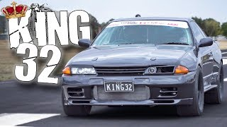 "Download 1500HP Nissan ""KING32"" GTR Lays Down the LAW! Video"