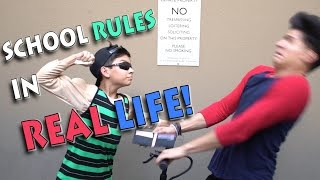 Download SCHOOL RULES IN REAL LIFE! Video