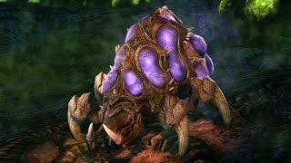Download Baneling Evolution: Splitter and Hunter (Starcraft 2: Heart of the Swarm) Video
