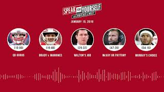 Download SPEAK FOR YOURSELF Audio Podcast (1.15.19) with Marcellus Wiley, Jason Whitlock   SPEAK FOR YOURSELF Video