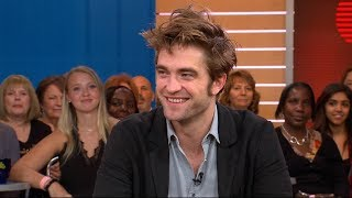 Download Robert Pattinson says he learned how to speak in a Queens accent in a tattoo shop Video