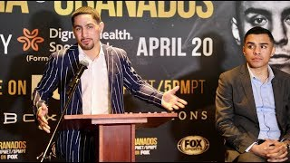 Download DANNY GARCIA & ADRIAN GRANADOS TRADE INSULTS BACK & FORTH HEATING UP THE PRESSER IN LOS ANGELES Video