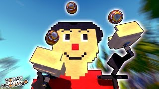 Download I TAUGHT A ROBOT HOW TO JUGGLE! - Scrap Mechanic Gameplay Video