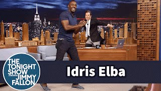 Download Idris Elba Shows Off His Slick Footwork Dance Moves Video