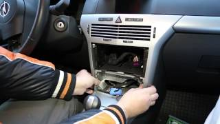 Opel CD70 Navi DVD90 Navi Firmware update for ability to made AUX