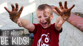 Download Messy Messy Backyard Mud Play Video