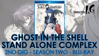 Download Ghost in the Shell: Stand Alone Complex 2nd GIG (2004-05) Blu-ray Collection | 攻殻機動隊 | Unboxing Video