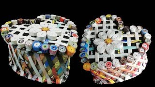 Download Make a Heart shaped box using newspaper & Cardboard DIY Newspaper Craft Idea LifeStyle Designs Video
