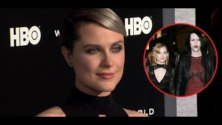 Download Evan Rachel Wood Opens Up About Dating Marilyn Manson | Splash News TV Video