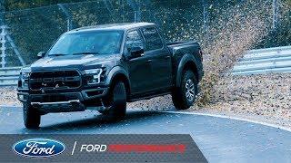 Download Vaughn Gittin Jr. Drifts Nurburgring in Ford Raptor | Ford Performance Video